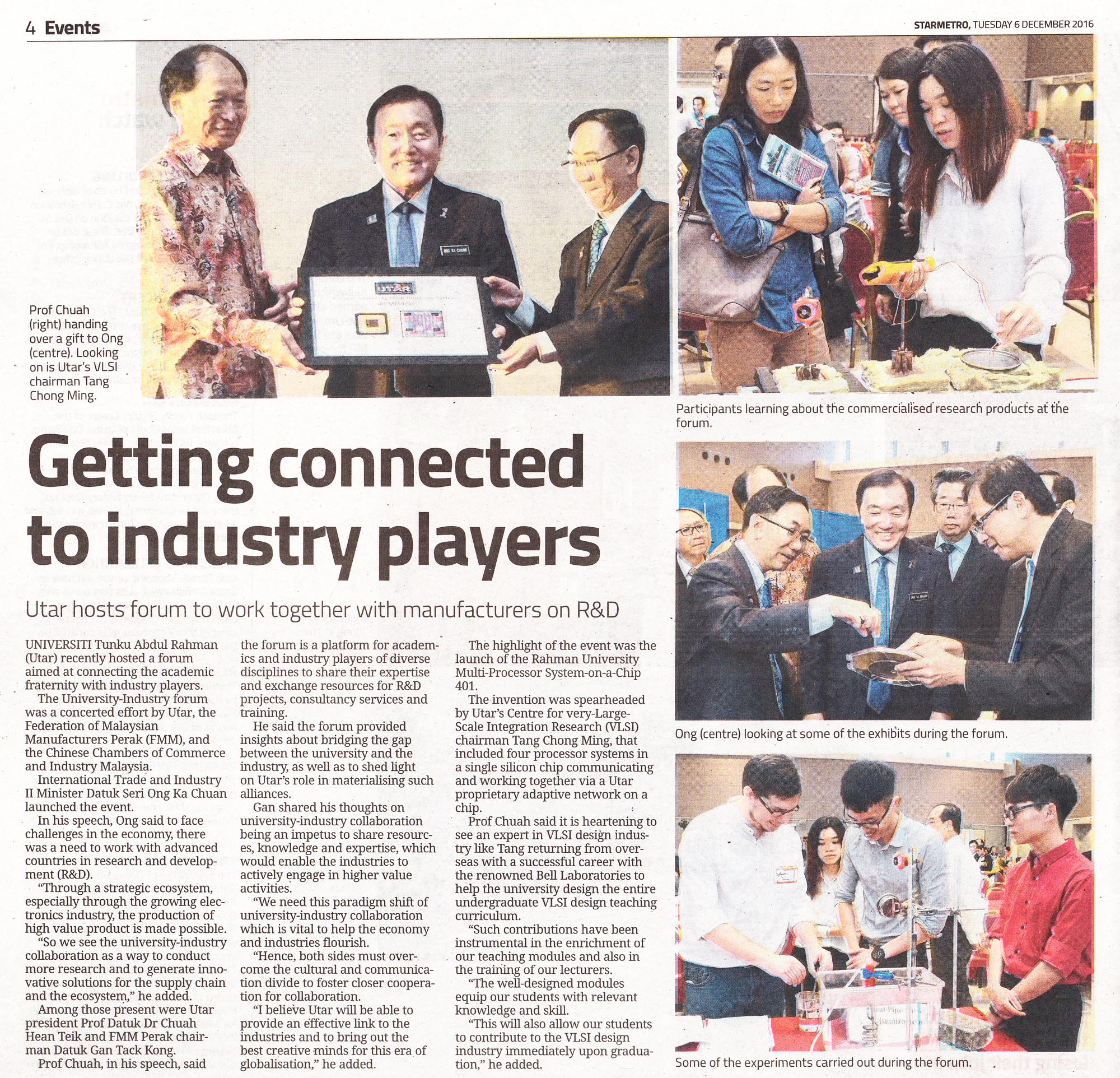 The Star Getting Connected To Industry Players