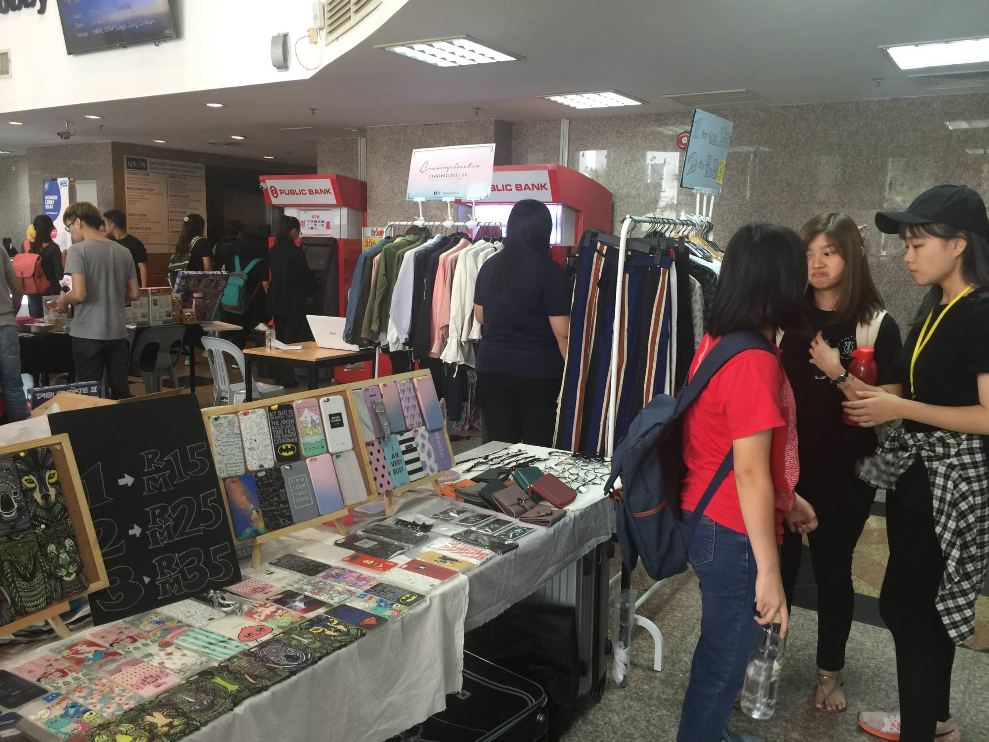 Flea Market on 11 to 12 July 2017 at UTAR Sungai Long Campus